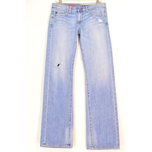 Ag Adriano Goldschmied Denim - AG Adriano Goldschmied jeans 30 x 34 Tomboy long t